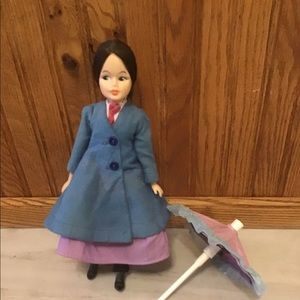 Vintage Horsman Mary Poppins doll from the 1960s.